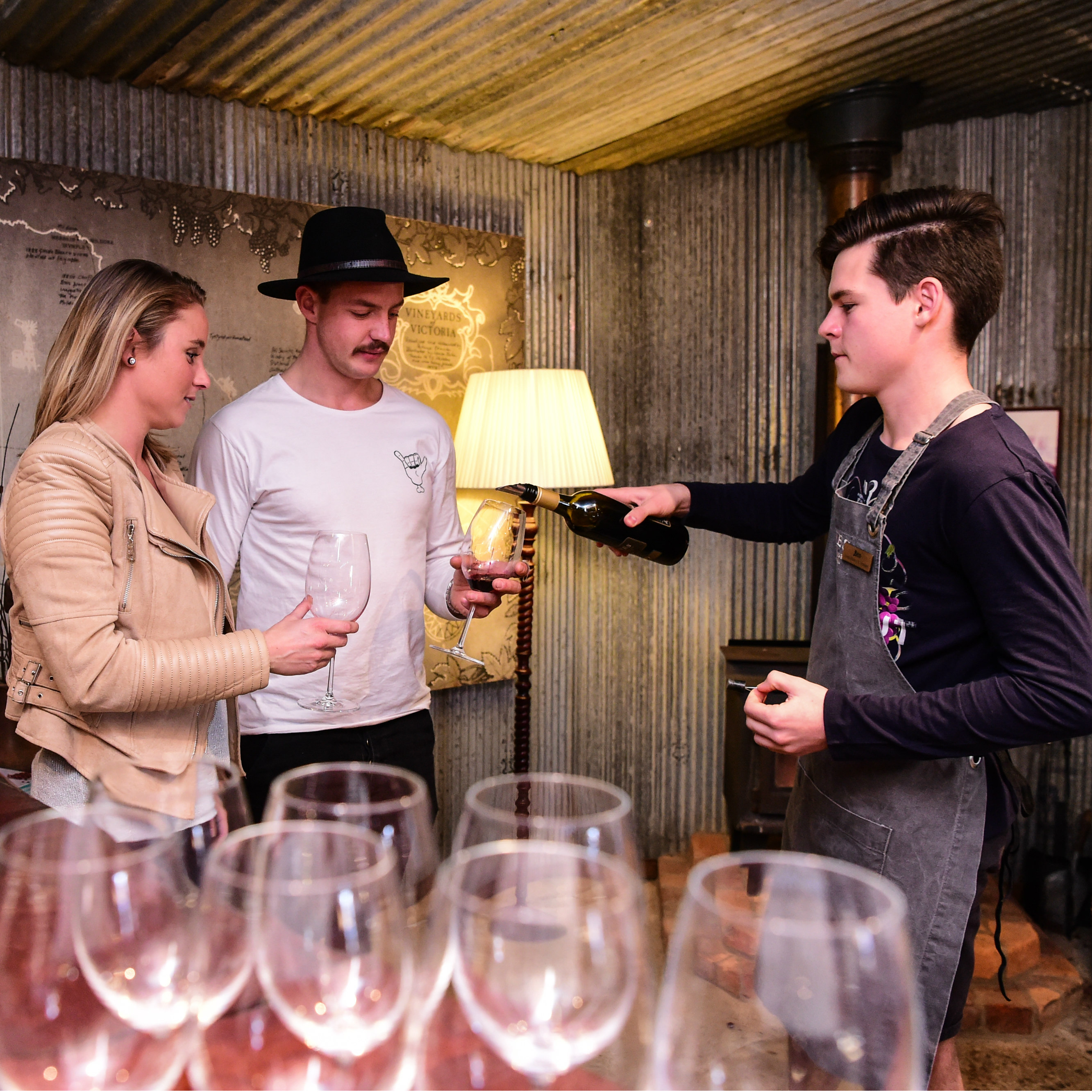Cellar Door Wine Tasting in our Heritage listed building
