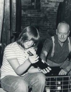 Mandy  &  her Grandfather